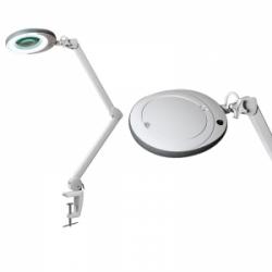 Лампа-лупа LED (48 светодиодов 3 диоптрии) кронштейн серый ободок